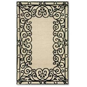 Orvis Wrought Iron Indoor/Outdoor Rugs Patio, Lawn
