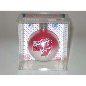 NEW JERSEY DEVILS (2 5/8 In Diameter) Multi Color CHRISTMAS ORNAMENT