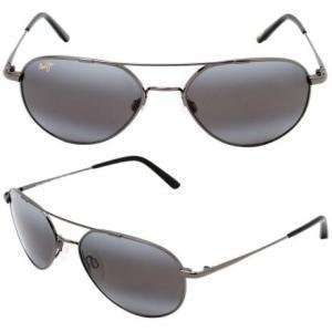 Maui Jim Lanai Sunglasses   Polarized Gunmetal/Neutral