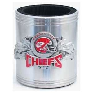 Kansas City Chiefs NFL Pewter Can Cooler Sports