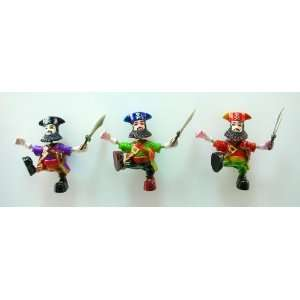 Captain   Refrigerator Bobble Magnet (Set of 3)