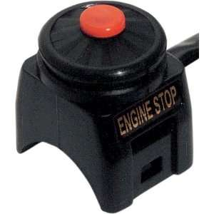 Emgo OEM Replacement Kill Switches Black Automotive
