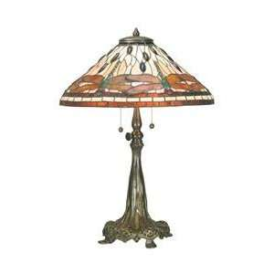 Dale Tiffany 0038/351 Dragonfly Table Lamp