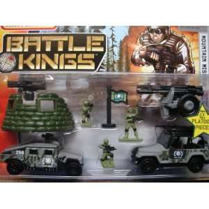 Matchbox Battle Kings Army Mountain Mission Military Set Toys & Games