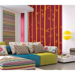 Large Wall Bamboo Tree Decal Forest Kids Vinyl Sticker Removable with