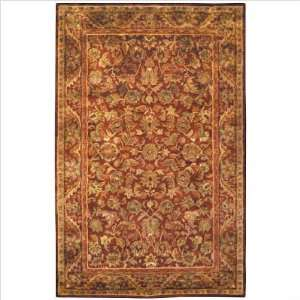 Antiquities Majesty AT52B Wine / Gold Oriental Rug Size 8