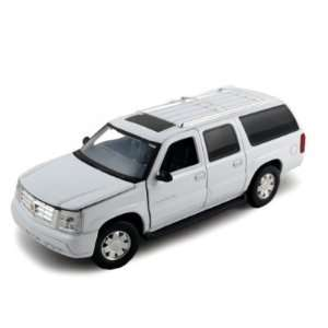 2004 Cadillac Escalade ESV Diecast Model Car 1/32 White  Toys & Games