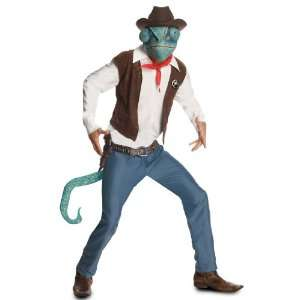 Lets Party By Rubies Costumes Rango   Cowboy Rango Adult