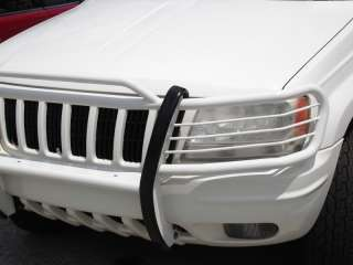 99 04 JEEP GRAND CHEROKEE WHITE BRUSH GRILL GUARD NEW