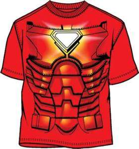 IRONMAN T Shirt Tee Marvel Costume/Complay Mark VI (MEN