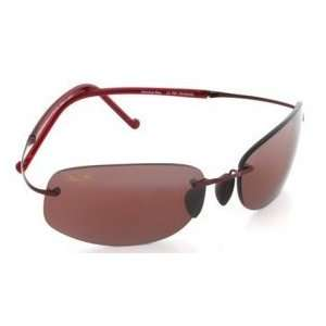 Maui Jim Honolua Bay 516 Sunglasses, Burgundy/Rose Lens