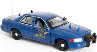 MICHIGAN STATE POLICE TROOPER 2007 FORD SLICKTOP POLICE CRUISER APPROX