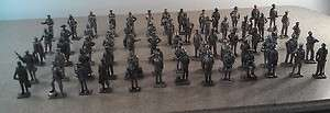 1970S FRANKLIN MINT PEWTER MILITARY SOLDIER COLLECTION FIGURINES 65