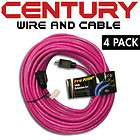 Century Wire 100 12/3AWG SJTW Pro Heavy Duty Power Extension Cord